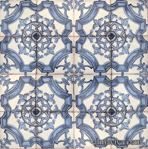 Almaviva produits revetements muraux en faience - Carrelage motif ancien ...