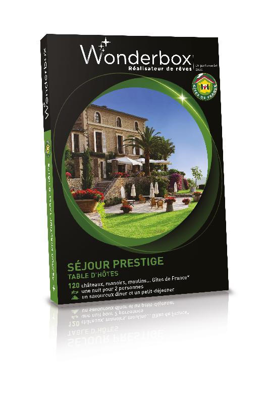 Wonderbox multipass produits de la categorie coffrets - Wonderbox sejour prestige table d hotes ...