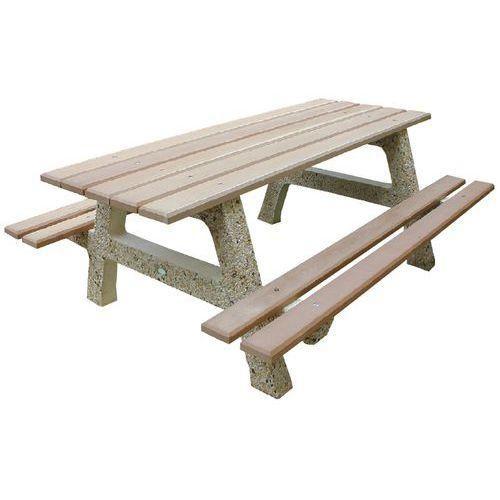 TABLE ARIZONA AVEC 2 BANQUETTES