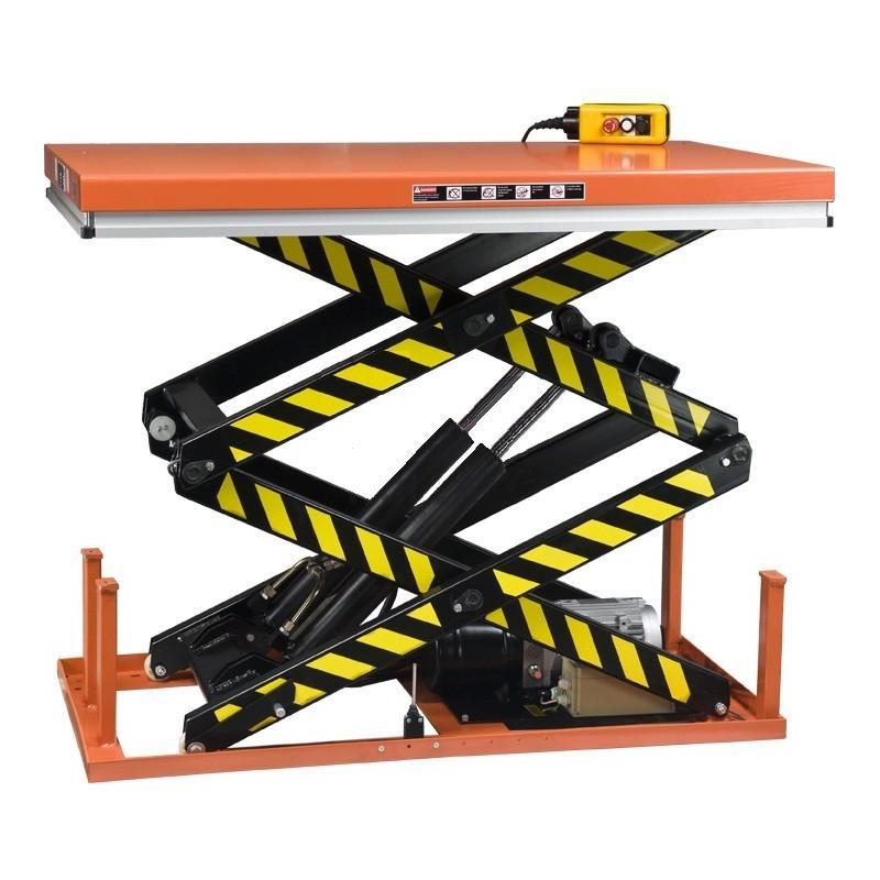 Table elevatrice fixe double ciseaux verticaux hsd 1000 for Table elevatrice a ciseaux