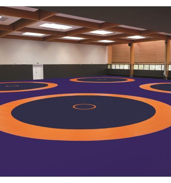 520 - tapis lutte de compétition - 600 x 600 x 6 cm - o'jump