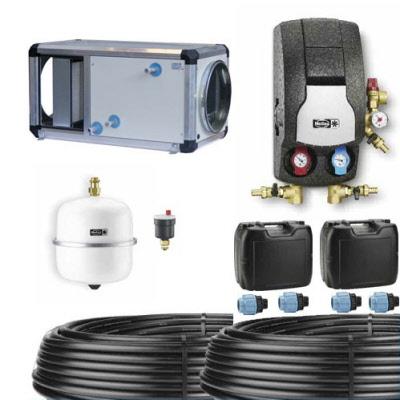 kit complet puits canadien ou provencal a eau glycolee helios 300 m h debit de pointe de la vmc. Black Bedroom Furniture Sets. Home Design Ideas