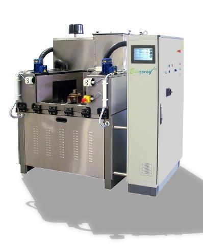 Machine de lavage et traitement des pièces dédiées avec temps cycle inferieur 3s