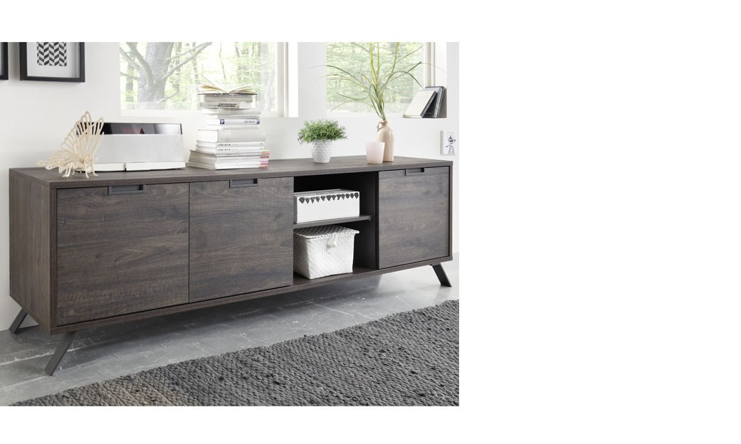 enfilade wenge affordable enfilade taupe et wenge moderne. Black Bedroom Furniture Sets. Home Design Ideas