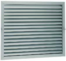 Grille aluminium a logement pour filtres gpf b 600x600 - Grille de ventilation aluminium ...