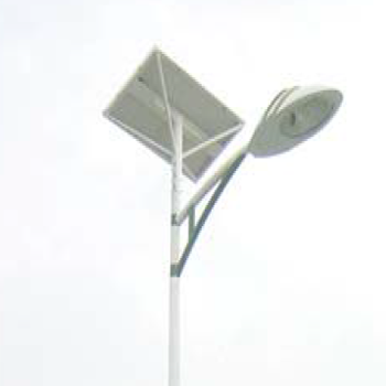 Lampadaire urbain solaire classic / led / en acier galvanisé thermolaqué
