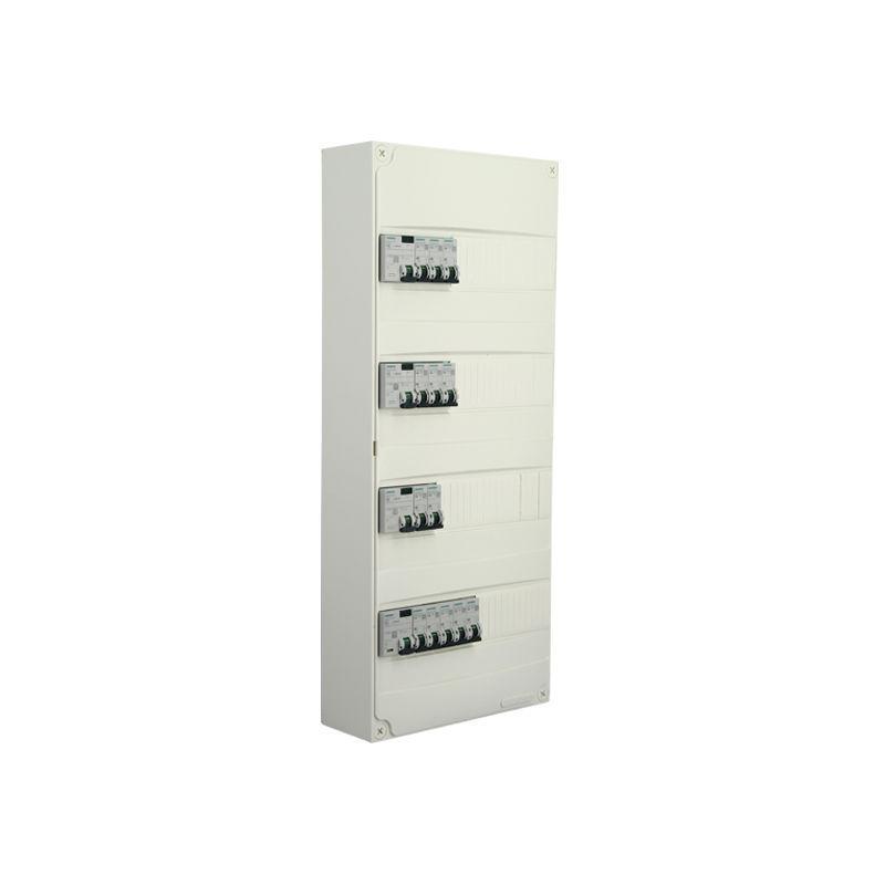 siemens tableau lectrique pr quip 4 rang es 52 modules 13 disjoncteurs 4 interrupteurs. Black Bedroom Furniture Sets. Home Design Ideas