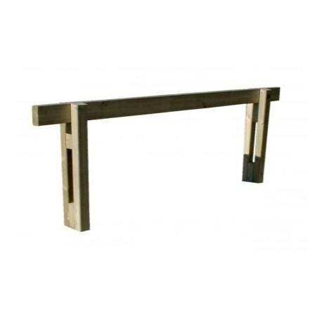 barriere coulissante en bois. Black Bedroom Furniture Sets. Home Design Ideas