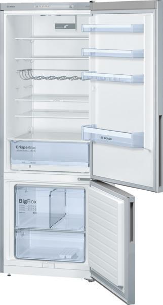 bosch refrigerateur combine confort kgv58vl31s kgv 58 vl 31 s inox look. Black Bedroom Furniture Sets. Home Design Ideas