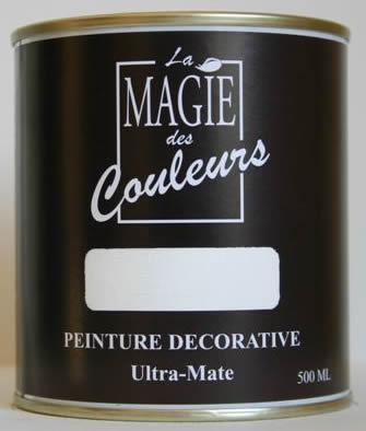 Peinture acrylique mate - chantilly 500 ml