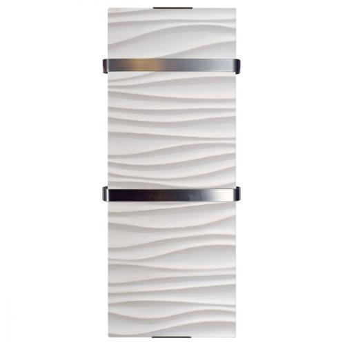 radiateur seche serviette ondulation 1200 w ip24. Black Bedroom Furniture Sets. Home Design Ideas