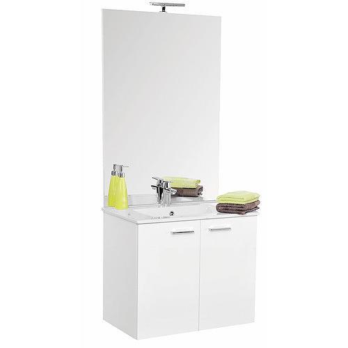 meuble de salle de bains complet largeur 60 cm angelo n ova comparer les prix de meuble de. Black Bedroom Furniture Sets. Home Design Ideas