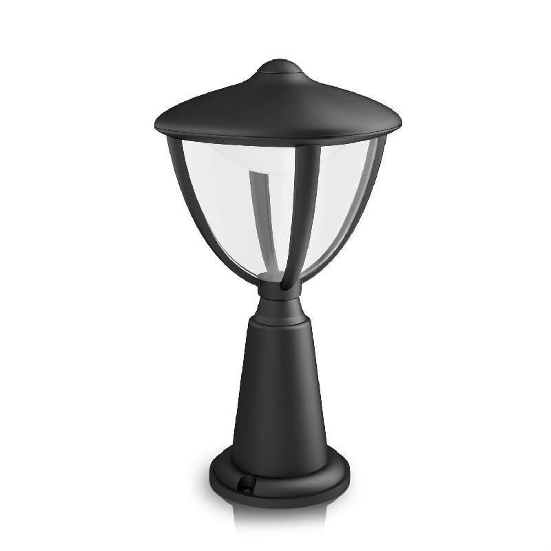 Borne lumineuse philips achat vente de borne lumineuse for Luminaire exterieur noir