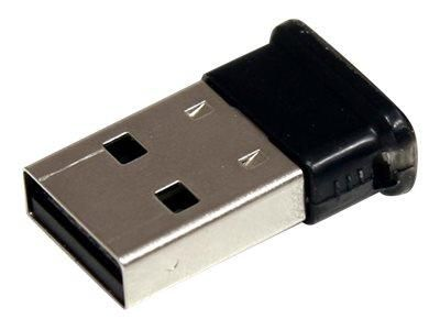 STARTECH.COM MINI ADAPTATEUR USB BLUETOOTH2.1 - ADAPTATEUR RÉSEAU SANS FIL EDR CLASSE 1 - ADAPTATEUR RÉSEAU - USB - BLUETOOTH 2.1 EDR - CLASSE 1 - NOIR