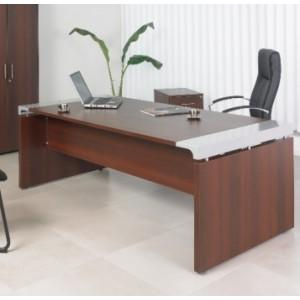 Qualidesk produits de la categorie bureaux de direction for Grand bureau moderne