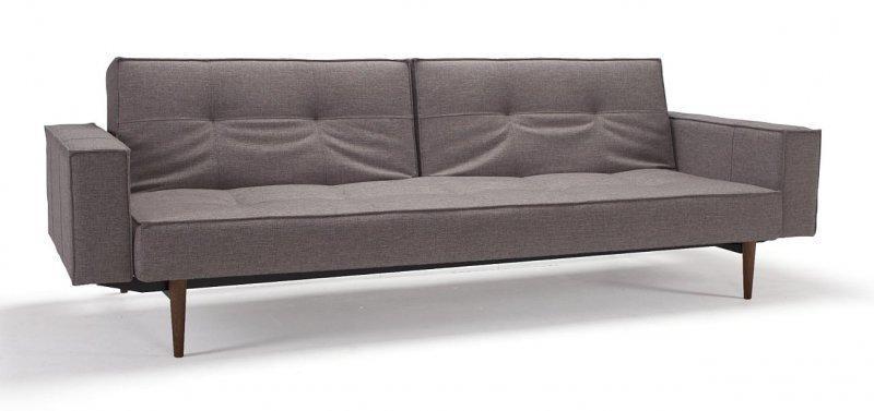 canape design oz marron innovation convertible lit 200 115cm. Black Bedroom Furniture Sets. Home Design Ideas