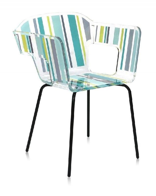 Alnoor bayadere fauteuil plexiglass design acrila