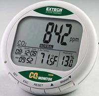 detecteur mesureur de dioxyde de carbone co200. Black Bedroom Furniture Sets. Home Design Ideas