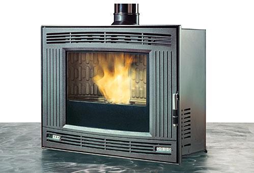 Inserts pour cheminees tous les fournisseurs insert bois insert gaz insert encastrable - Insert a pellet encastrable ...