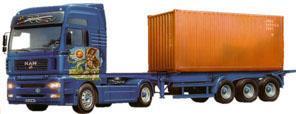 Maquette Man Tga Porte Container Au 1 24eme Italeri
