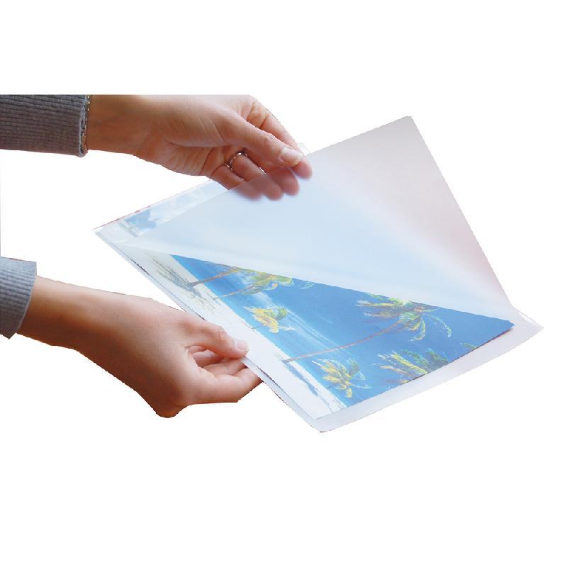 Pochette Plastique Autocollante A3