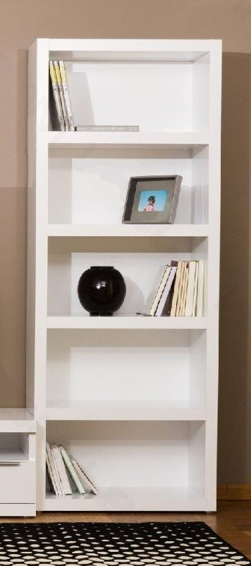 temahome valley bibliotheque etagere meuble design blanc. Black Bedroom Furniture Sets. Home Design Ideas