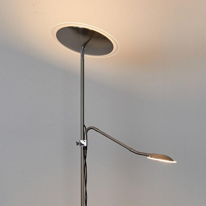 lampadaire eclairage indirect led