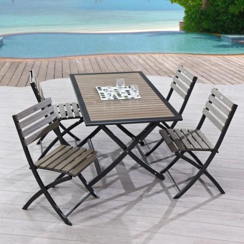 Table d 39 ext rieur en bois tous les fournisseurs de table for Table exterieur 120x60