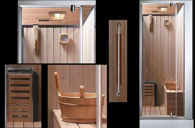 douche sauna hammam 39 meranda 250 39. Black Bedroom Furniture Sets. Home Design Ideas
