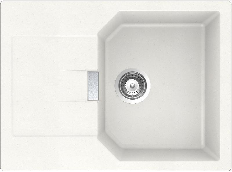 evier cristalite encastrer 1 bac 1 gouttoir manhattan couleur nero comparer les prix de. Black Bedroom Furniture Sets. Home Design Ideas