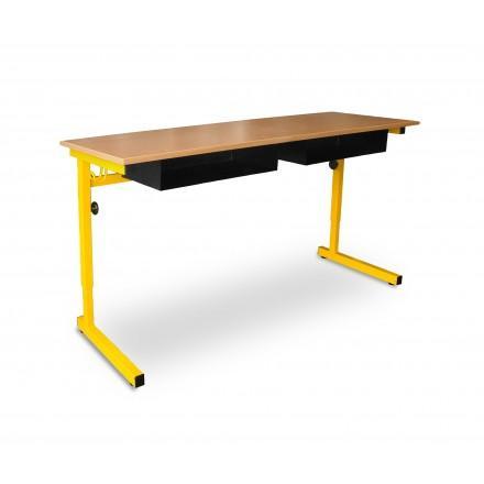 Bureau d 39 ecole tous les fournisseurs mobilier ecole for Bureau 4 places