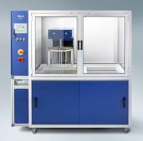 Machine d'électropolissage epag