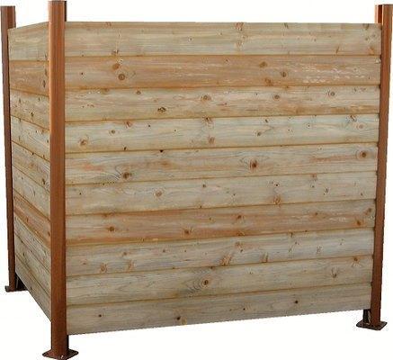Abris pour conteneurs achat vente abris pour for Conteneur bois
