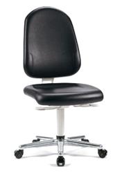 Chaise et siège blanc