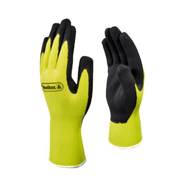 Gants pes jaune latex noir appolon vv733 comparer les prix - Gant latex noir ...