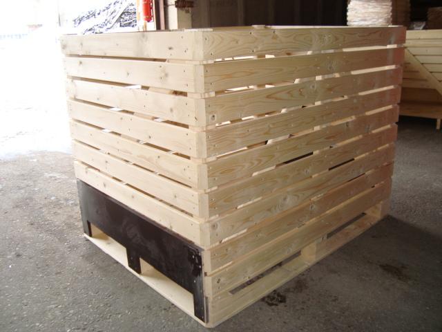 caisses palettes en bois tous les fournisseurs palox caisse palette en bois. Black Bedroom Furniture Sets. Home Design Ideas