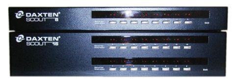 1014-10XP - COMMUTATEUR KVM DAXTEN SCOUT 8