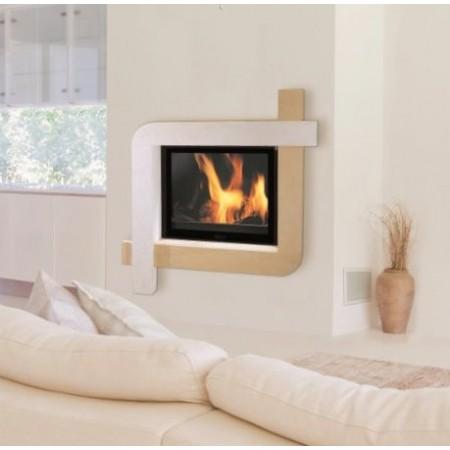 cheminees contemporaines ibiza l116 p74 h147 5 cm. Black Bedroom Furniture Sets. Home Design Ideas