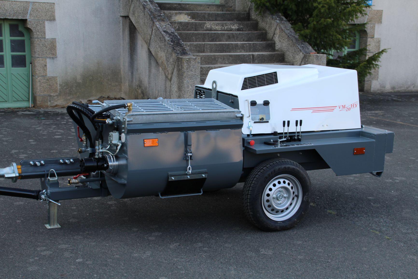 Machine à projeter - transporteur mixte vm20hy mi