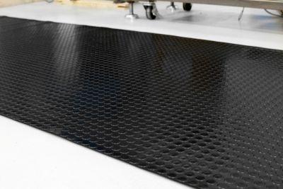 tapis de sol en caoutchouc au m tre lin largeur 1200 mm paisseur tapis 3 mm noir comparer. Black Bedroom Furniture Sets. Home Design Ideas