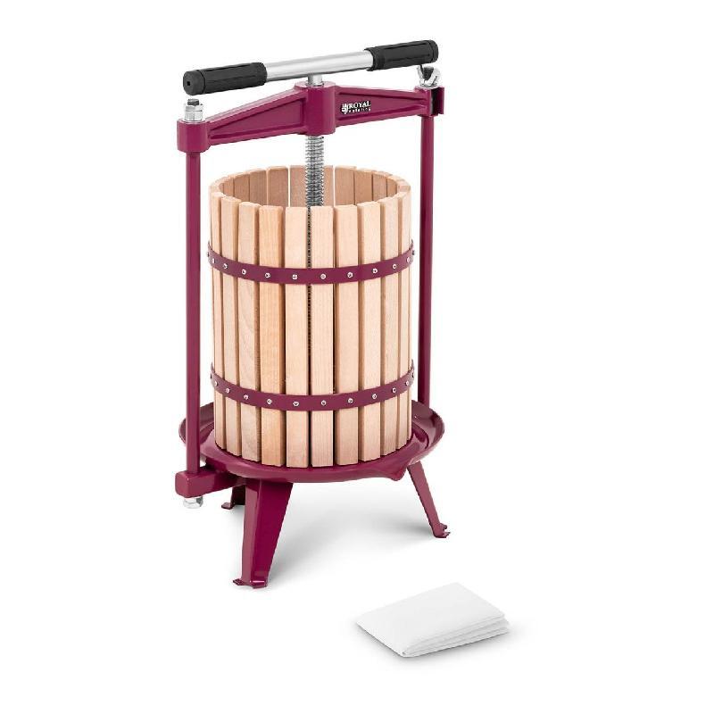 Pressoir manuel en bois 18 litres 2 étamines actionnement manuel 14_0003147