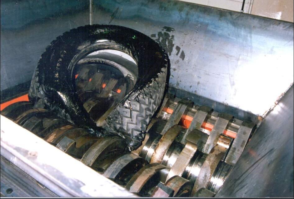Broyeur pneu