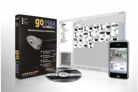 GO1984ULTIMATE - LOGICIEL DE GESTION DE CAM IP / ANALO POUR PC GO1984 ULTIMATE