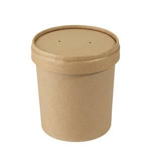 gobelet a soupe avec couvercle contenance 0 35 l papier dur. Black Bedroom Furniture Sets. Home Design Ideas
