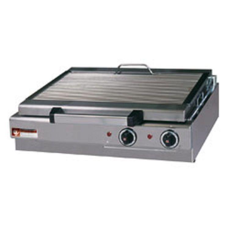 Grill vapeur electrique de table 600x340mm - Grill electrique de table ...