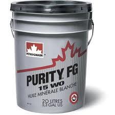 Huile alimentaire petro canada purity fg wo