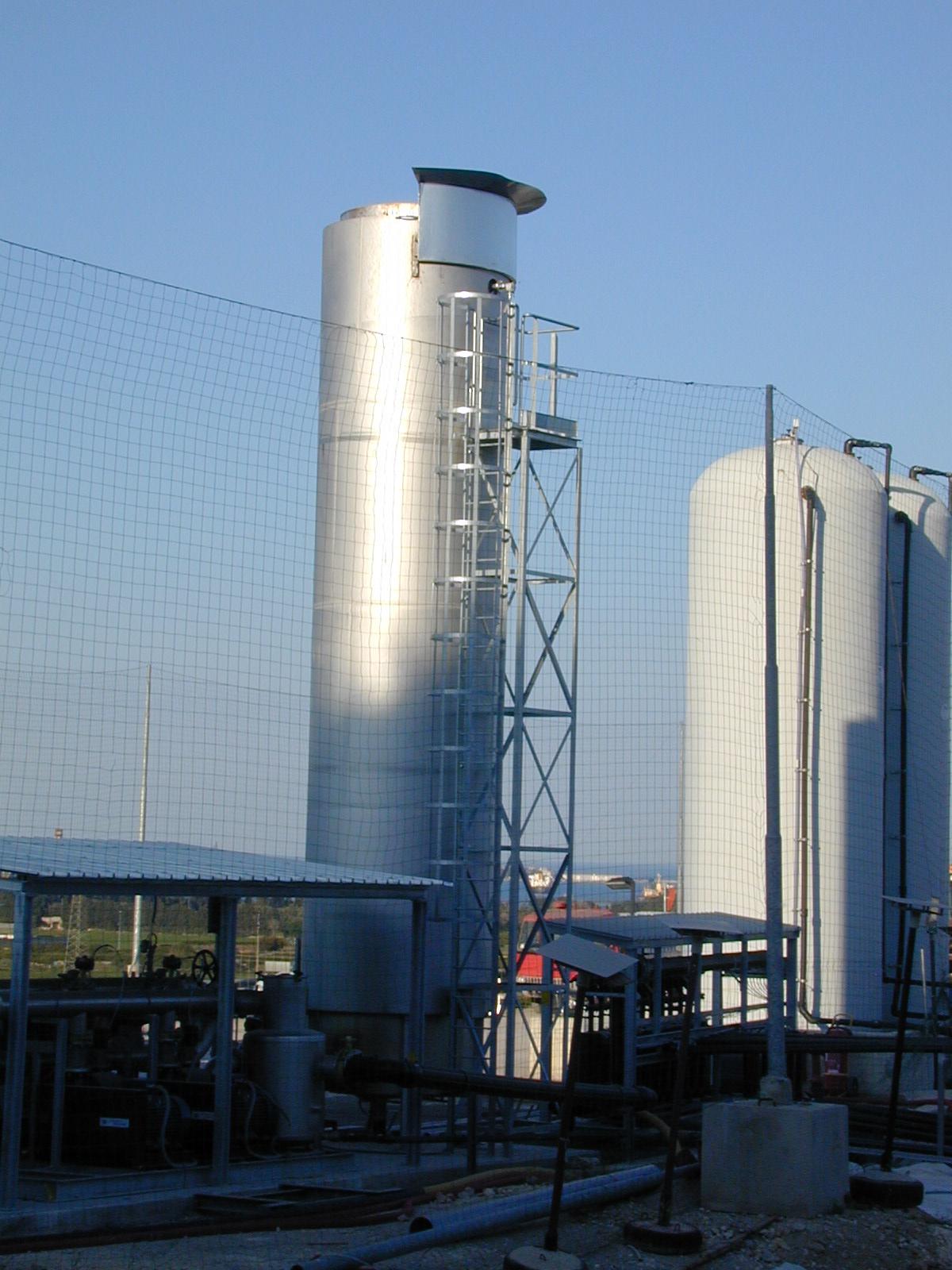Torchere biogaz
