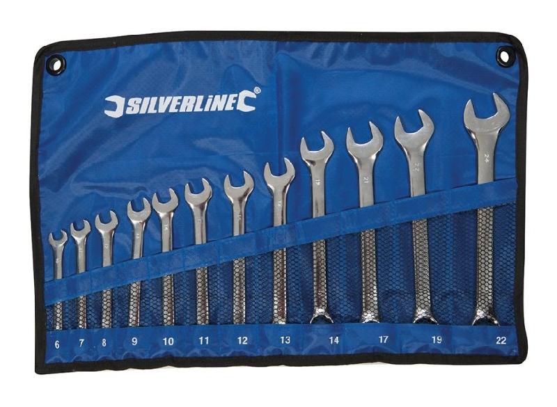 GF7144 Silverline 10 embouts T10 chrome-vanadium T10