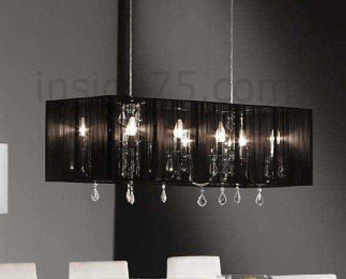 suspension design cercle multi leds. Black Bedroom Furniture Sets. Home Design Ideas