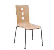 Chaise coque bois   4 pieds  ø 18 olga t6